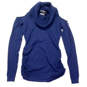3/$25 Hooked Up Blue Turtle Neck Cold Sweater XS